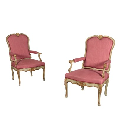 Pair of Armchairs, the EIGHTEENTH Century