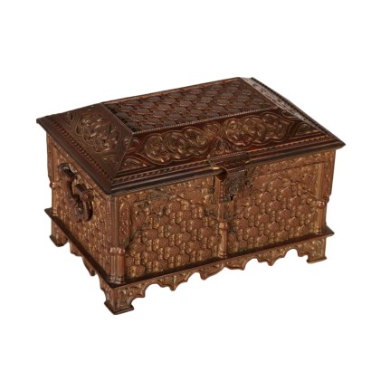 Treasure Chest Bronze Early 1900s