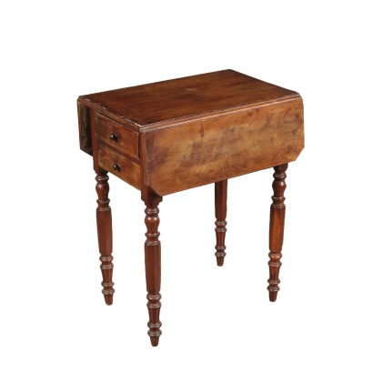 Working Table with Hinges Mahogany Mid 19th Century