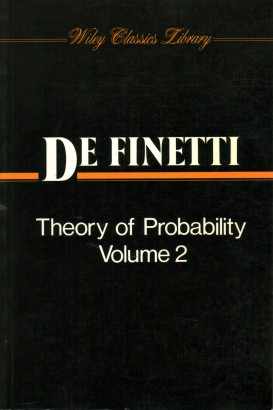 Theory of Probability. Volume 2