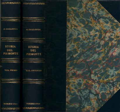 History of Piedmont from the earliest times to the peace of Paris of 30 march 1856 (2 Volumes)