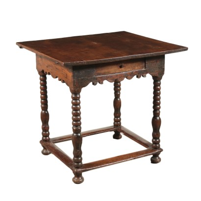 Spanish Small Table Walnut 18th Century