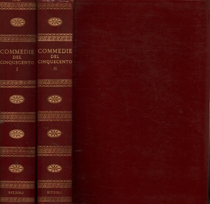 The comedies of the Sixteenth century (2 volumes)