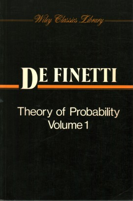 Theory of Probability. Volume 1