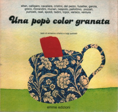 Eine popò color granate