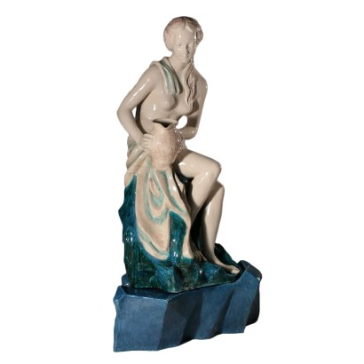 Earthenware Sculpture Italy 20th Century