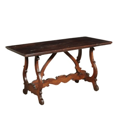 Monk's Table Walnut Italy 18th Century
