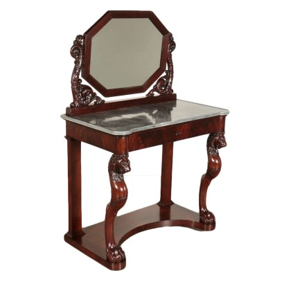 Console Genovese with Mirror