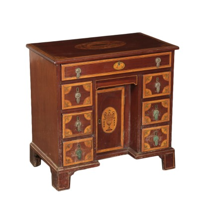 Regency Desk Marple and Mahogany England 19th Century