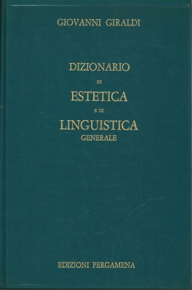 Dictionary of aesthetics and general linguistics
