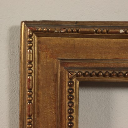 Gilded Frame Wood Italy 18th Century
