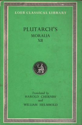Plutarch's Moralia XII