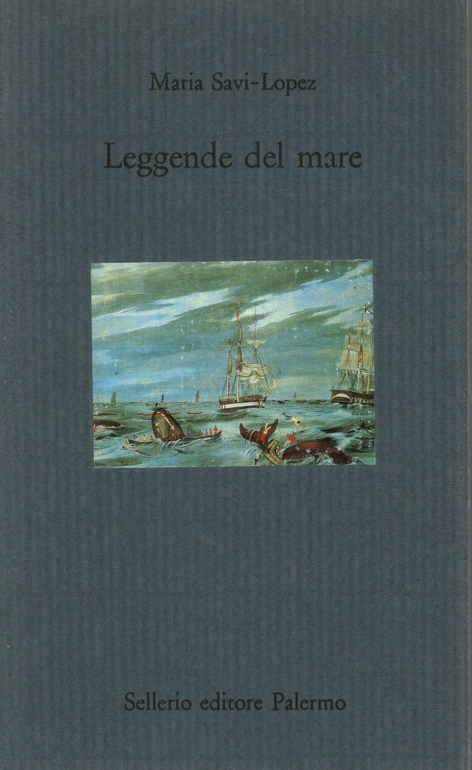 Legends of the sea, Maria Savi-Lopez