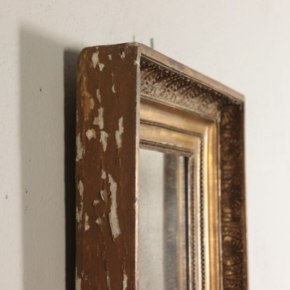 Gilded Wall Mirror Wood Italy 19th Century