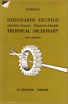 Technical dictionary English-Italian Italian-English