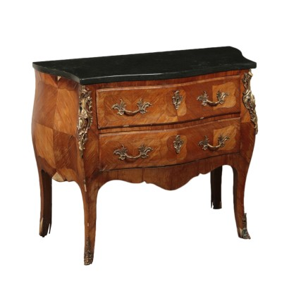 Dresser, Brazilian Rosewood and Bronze, Italy 20th Century