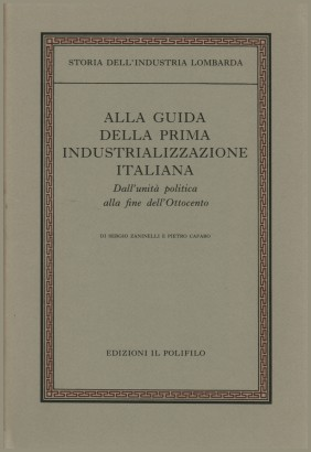 The guide of the first industrialization of the Italian