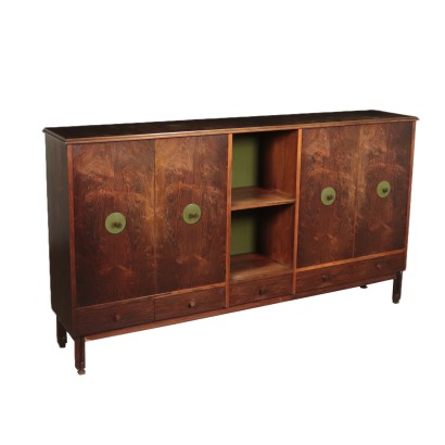 Piece of Furniture, Rosewood Veneer Italy 1960s Italian Prodution