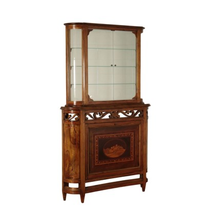 Cabinet with tilting Door
