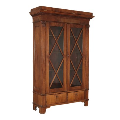 Showcase - Bookcase Biedermeier