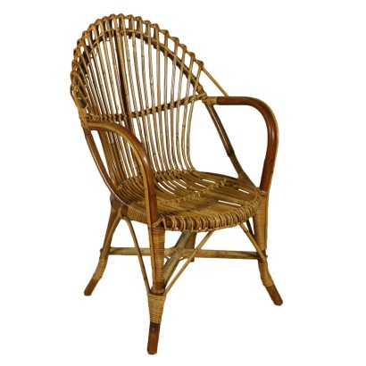 Chair in Wicker