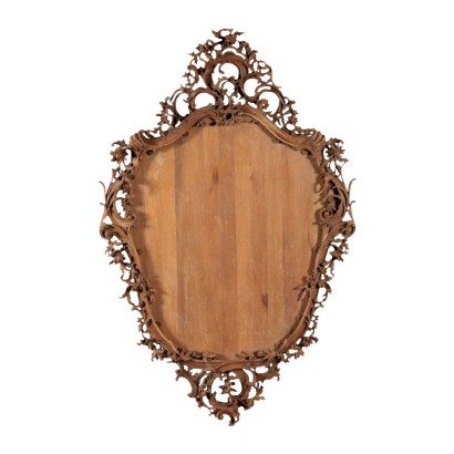 Liberty Frame, Walnut, Italy 20th Century
