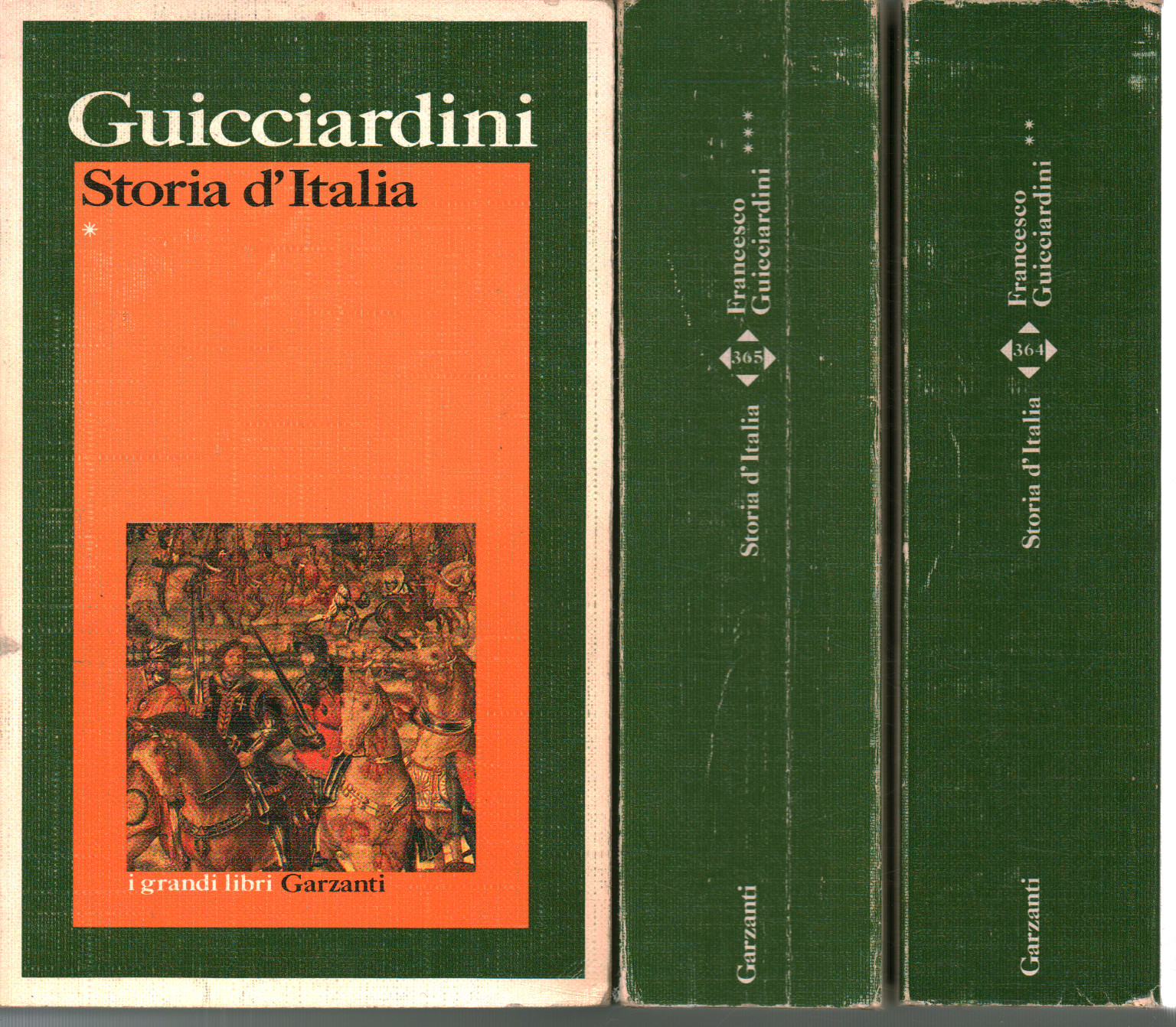 History of Italy (3 Volumes), Francesco Guicciardini