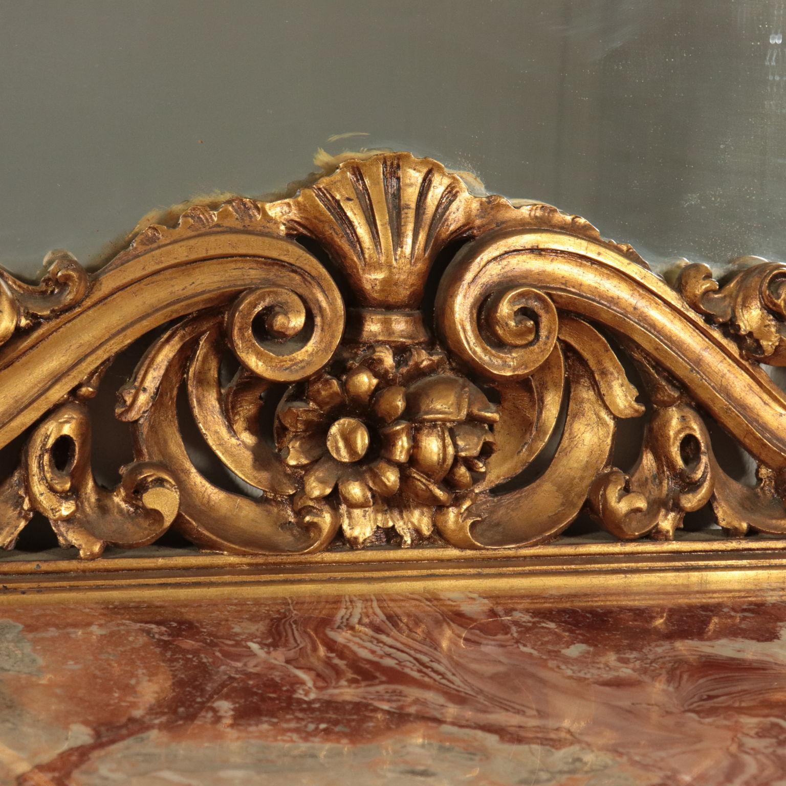Console Vorgrundiertes Antichoc Polyur/éthane Console Murale Baroque D/écoration Int/érieur Unit/é Centrale Hexim Parfait 305 X 290 mm C8067