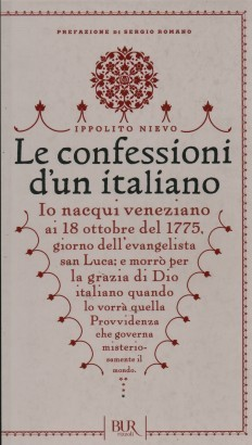 The confessions of an Italian