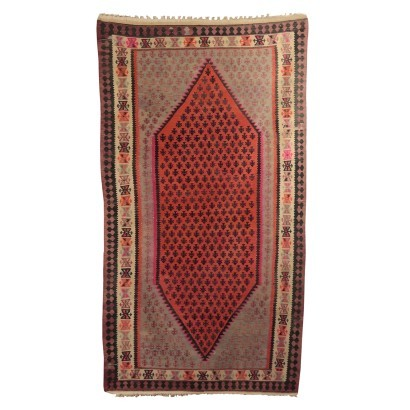 Kilim Carpet, Wool, Persia 1940s-1950s