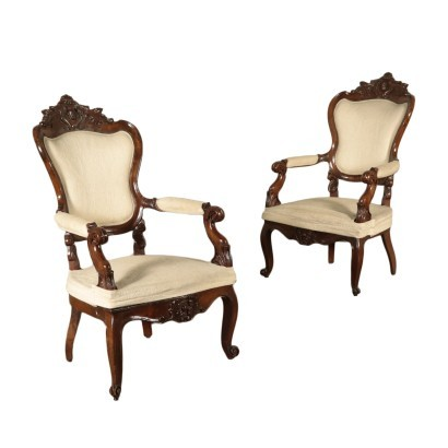 Pair of Armchairs, Louis-philippe