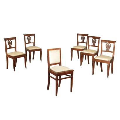 Group of Six Chairs