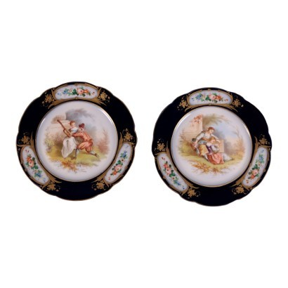 Pair of Risers Sevres