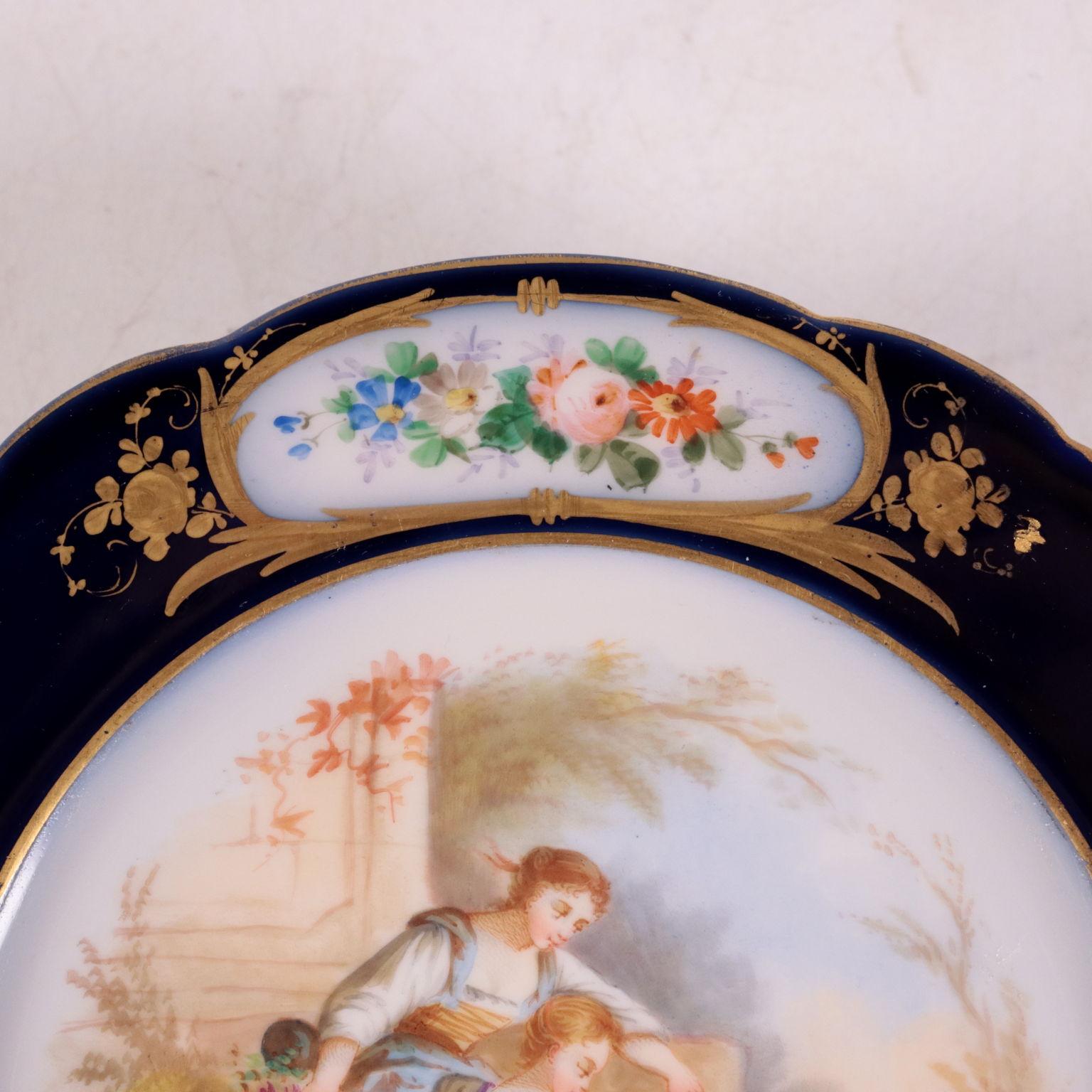 Coppia di Alzatine Sevres - Ceramiche - Antiquariato ...