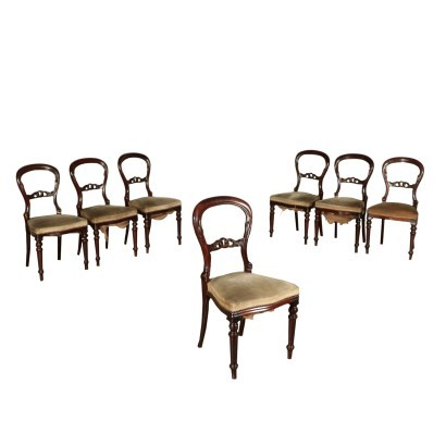 Group of 7 Chairs England 20th Century