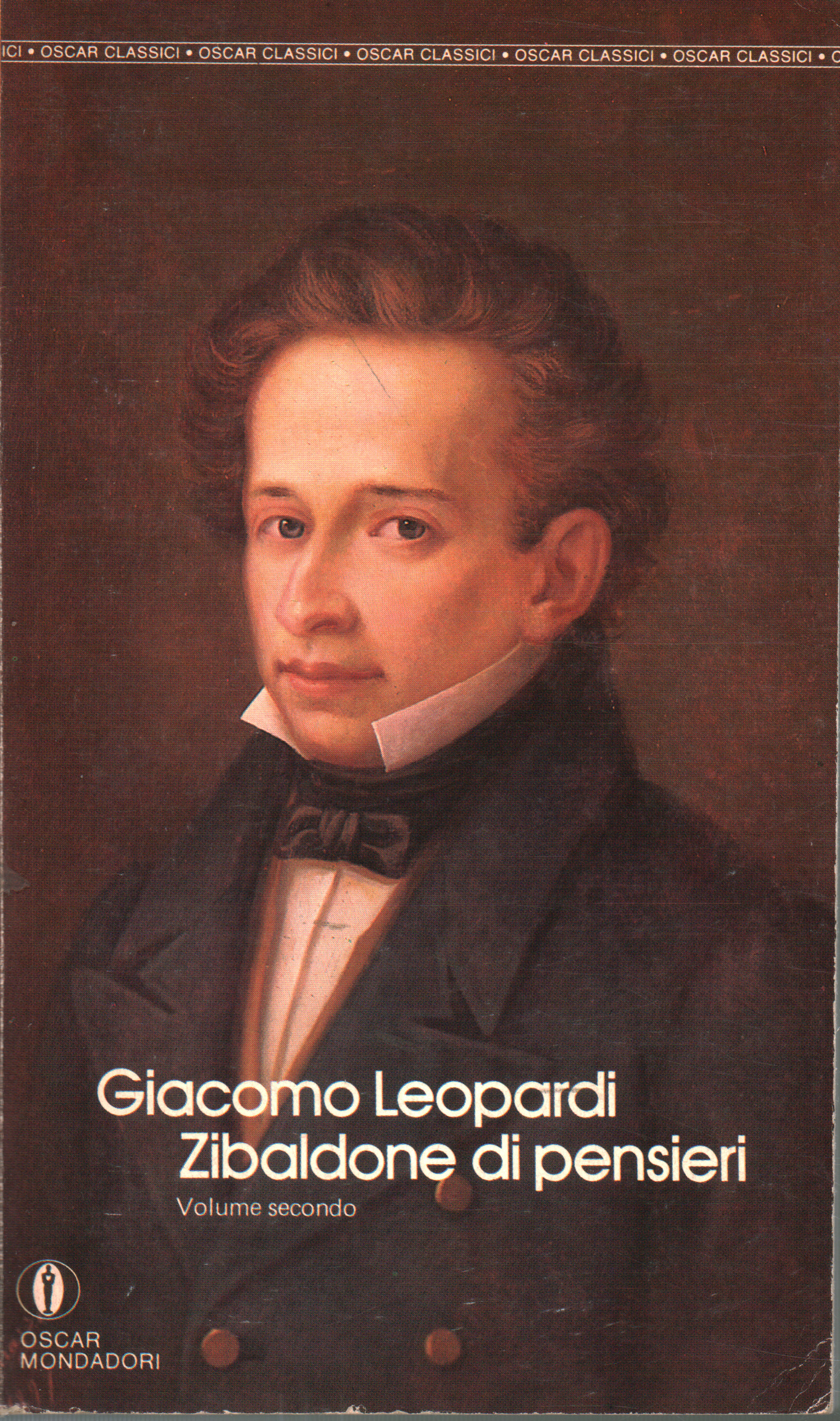 Zibaldone of thoughts (the second volume), Giacomo Leopardi