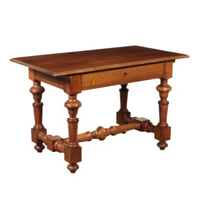 Walnut Desk Italy 20th Century