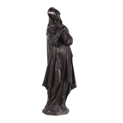 Virgin of Nuremberg Bronze 20th Century