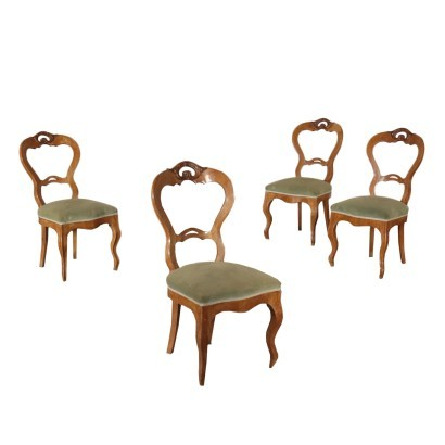 Group of Four Louis philippe Chairs