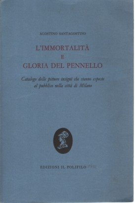 L'immortalità e gloria del pennello