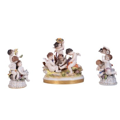 Group figurines Capodimonte