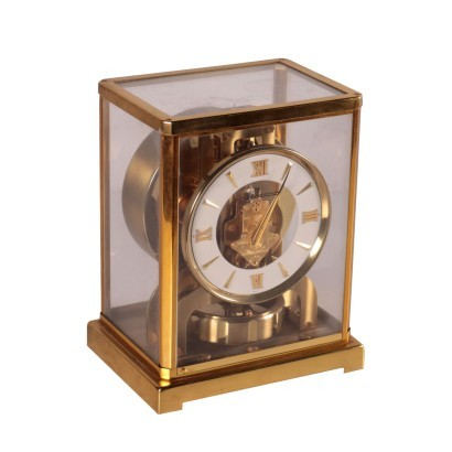 ATMOS Jaegar-Lecoutre Table Clock Calibre 526-5 Switzerlan 20th Cent