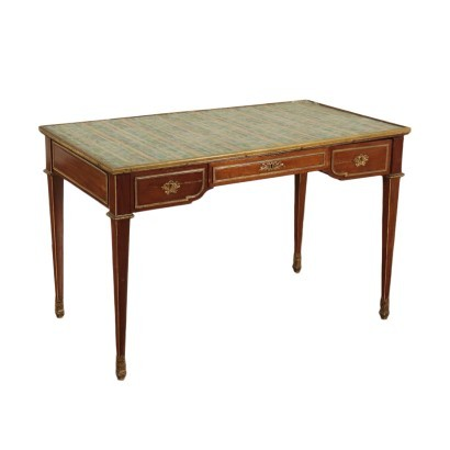 Neo-Classical Writing Desk Mahogany Italy 20th Century