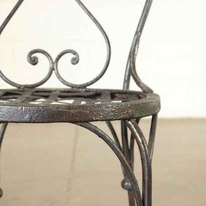 Wrought Iron Chair Italy 20th Century