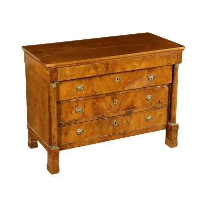 Chest Of Drawers Empire Style Italy First Quarter 19th Century