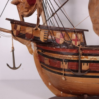Wooden Vessel Italy 20th Century