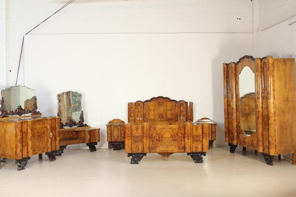 Camere Da Letto Art Deco : Camera art deco arredi completi bottega del 900 dimanoinmano.it