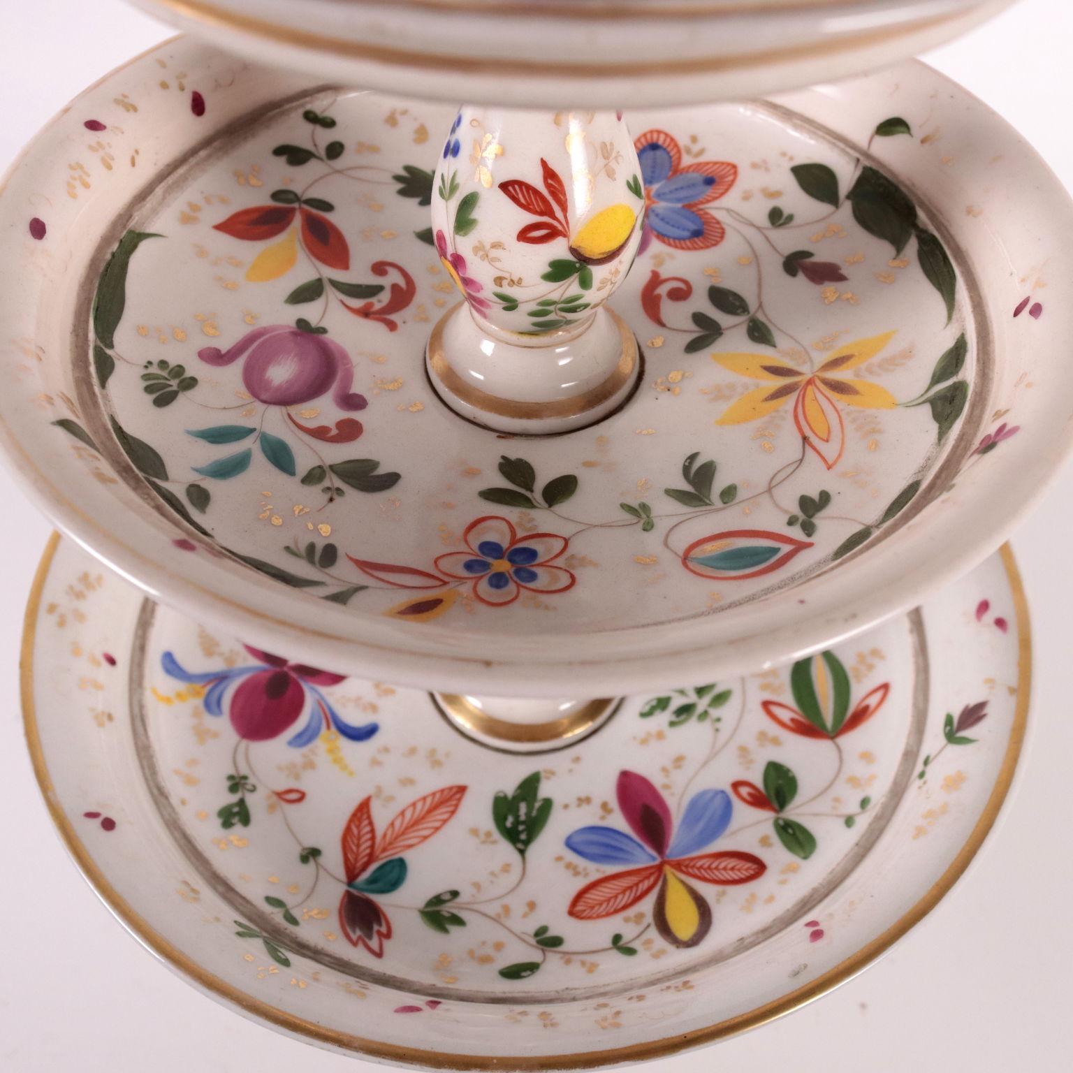 Coppia di Alzatine - Ceramiche - Antiquariato ...