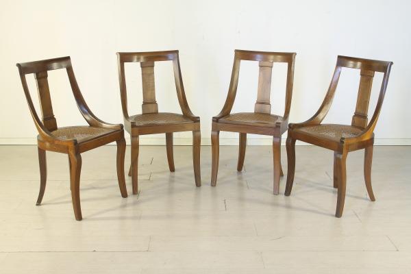 Sedie stile Impero - Mobili in stile - Bottega del 900 ...