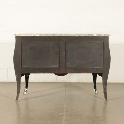 Barocchetto Chest Of Drawers Marble Italy 20th Century